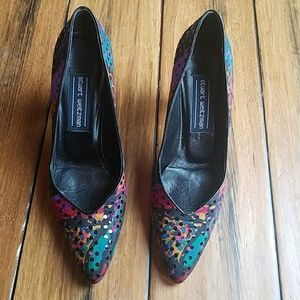 Shoes - Vtg 90s Stuart Weitzman pumps 7W
